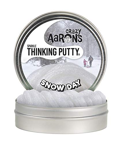 Crazy Aaron's Thinking Putty - Sparkle Snow Day Große Dose