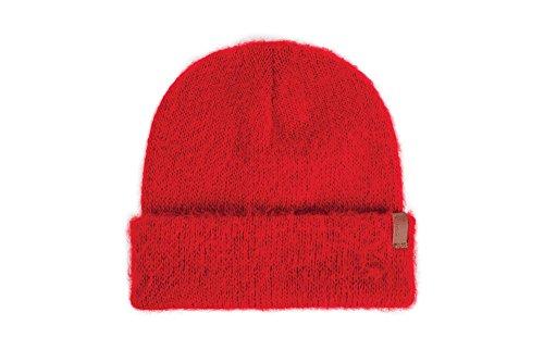 BRIXTON Damen Elena Beanie Headwear, Dark red, One Size