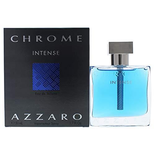 Chrome Intense by Azzaro Eau De Toilette Spray 1.7 oz / 50 ml (Men)