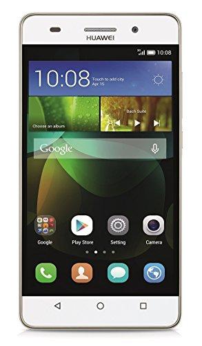 Huawei G Play Mini Smartphone (12,7 cm (5 Zoll) IPS-Bildschirm, Octa-Core-Prozessor, 13 Megapixel-Kamera, 8 GB interner Speicher, Dual-SIM, Android 4.4) weiß