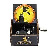 Art bag Caja de música, Piratas del Caribe, Caja de música de David Jones, Caja de música con manivela de Madera
