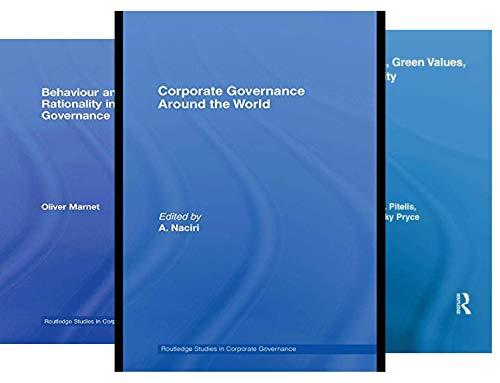 Routledge Studies in Corporate Governance (18 Book Series)
