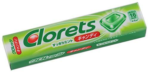 モンデリーズ・ジャパン クロレッツキャンディすっきりミント 12粒 ×15個
