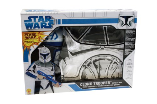 Rubie's 3 41086 L - Clonetrooper Captain Rex Small Box Set Kostüm, Größe L, blau