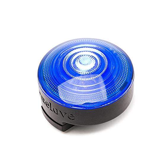 Truelove Pet Safety Luz LED Intermitente para Perros Accesorios para Perros Colgante Brillante LED Noche al Aire Libre para arnés de Cuello Productos para Mascotas-Blue_Free_Size