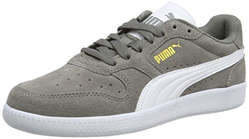 Puma ICRA TRAINER SD, Sneaker, Grau (Steel Gray-Puma White 34), 36 EU (3.5 UK)