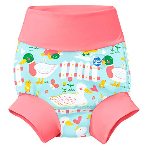 Splash About Happy Nappy Pañal de Baño Reutilizable - Little Ducks 12-24 Meses