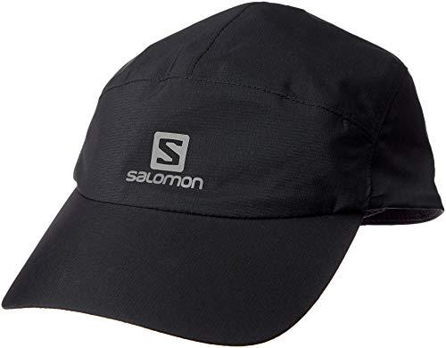 SALOMON Waterproof Cap Gorra, Unisex Adulto, Negro, Talla Única