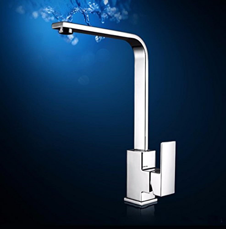 Gyps Faucet Waschtisch-Einhebelmischer Waschtischarmatur BadarmaturKüchenarmatur Küchenarmatur Mischen Gericht Waschbecken Einzelne Bohrung 360 Grad.,Mischbatterie Waschbecken