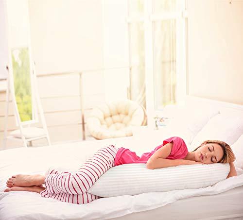 Utopia Bedding Long Side Sleeper Pillow