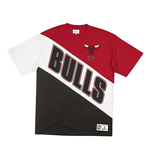 Mitchell & Ness NBA Play by Play - Camiseta de manga corta C. Bulls Red/Black XL