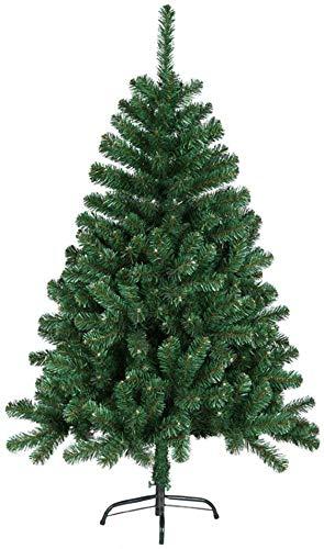 Aufun Weihnachtsbaum Künstlich 150cm Künstlicher Weinachts Baum Deko Künstlicher Tannenbaum Grün PVC mit Metallständer Weihnachtsdeko