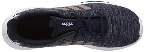 adidas Kids CF Racer TR Running Shoe, Legend Ink/Vapour Grey Metallic/Aero Pink, 6 M US Big Kid