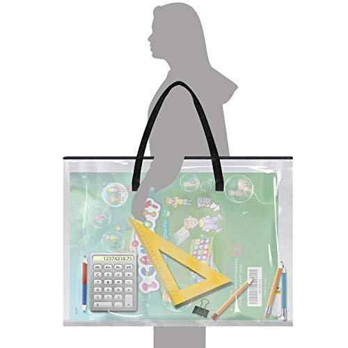 "Bulletin Board Art Storage Chart Bag Portfolio Case for Poster & Art (25"" x 20"") Photo #4"