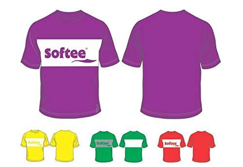 Softee T-Shirt pour Homme L Rouge