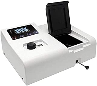 CGOLDENWALL 722N Portable Visible Spectrophotometer 4nm Lab Equipment 320-1020nm Wavelength Range 7 Inch Touch Screen, USB...