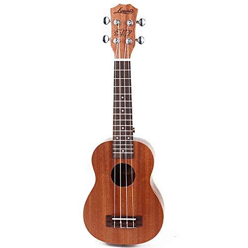 NIMEDI Ukelele Ukelele Ukelele beginners kinderen kleine gitaar volwassenen muziekinstrument 21 inch rook lila I