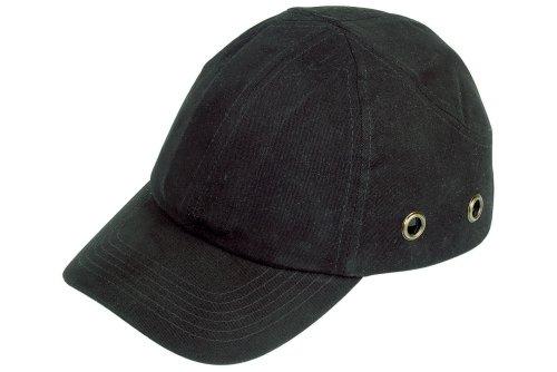 Wolfcraft 4858000 4858000-1 Protector para Cabeza Adaptable a Gorra,plástico Negro, DIN EN 812:1997 (CE)