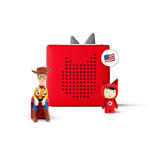 Toniebox Starter Set with Woody and Creative Audio Character -...