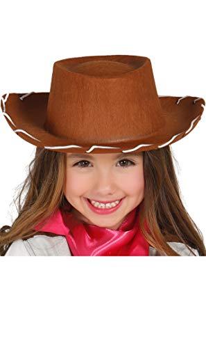 Guirca Fêtes gui13947 – Chapeau de Cowboy en Feutre, Les Enfants