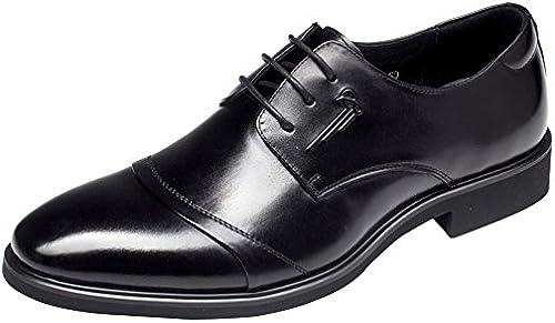 MYXUA Herren Spitzenschuhe Business Casual Dress Schuhe Daddy Schuhe Hochzeitsschuhe