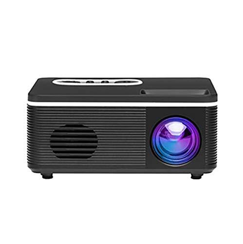 Beamer Projektor Elektrisch S361 Mini-Heimprojektor Mini-Heimprojektor LED Tragbarer Mini-Projektor Unterstützt 1080p HD