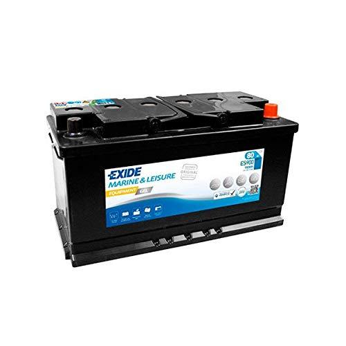 Exide - Batería Plomo sellada Gel Equipment Gel ES900 (900Wh) 12V 80Ah Auto