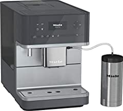 Miele CM6350 One-Touch Super-Automatic Countertop Coffee & Espresso Machine - Graphite Gray
