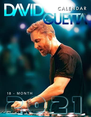 David Guetta: 2021.2022 Calendar – 7 x 11 Big Size High Quality