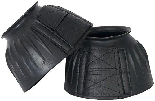 CLOCHES VELCRO CAOUTCHOUC XL - XL, NOIR