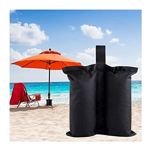 Sacchetti di Sabbia per ombrellone Sacchetti per Pesi, Gazebo Impermeabile Ombrello da Tenda Sacchi di Sabbia per Gambe Base ponderata, per Patio all'aperto Giardino sulla Spiaggia Qualsiasi