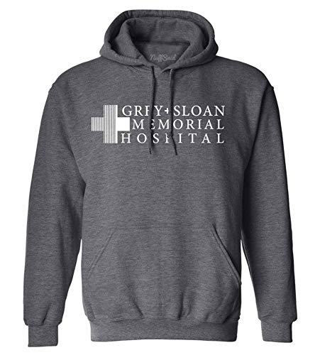 NuffSaid Grey Sloan Memorial Hospital Hooded Sweatshirt Sweater Hoodie Pullover – Premium Quality