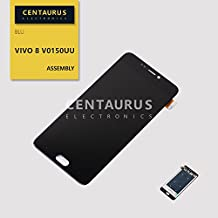 Assembly Replacement for BLU Vivo 8 V0150UU V0150LL 5.5 inch LCD Display Touch Screen Digitizer Full Replacement Part (Black)