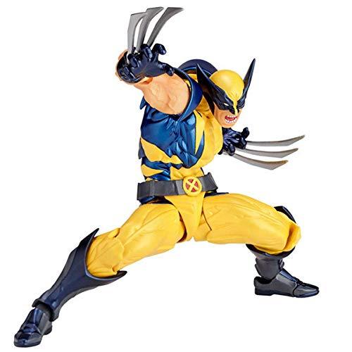 HYHSM Yamaguchi Marvel Wolverine Warrior Werwolf Joint beweglich Bewegliches Modell Sammlerstücke Hoch 16cm