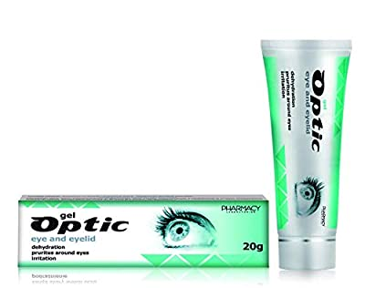Pharmacy Laboratories Optic Eye and Eyelid Gel 20g. Indicated for Dehydration, Pruritus, Demodicosis & Irritation Instant Relief & Renewal of Physiological Skin Barriers from Pharmacy Laboratories