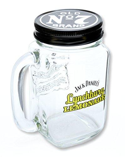 Original Lynchburg Lemonade Krug mit Henkel und Deckel von Jack Daniels