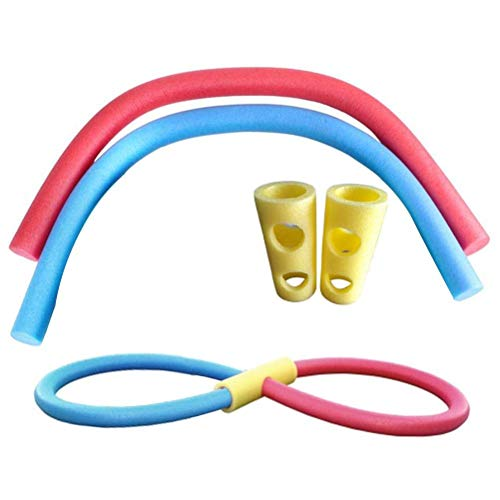 Juego De Fideos para Piscina Fideos para Nadar Fideos para Piscina Fideos Inflables para Agua 4 Paquetes De Colores Aleatorios Cómodos