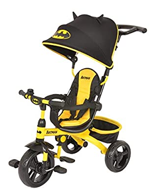 KidsEmbrace 4-in-1 Push and Ride Combination Stroller Tricycle from KidsEmbrace