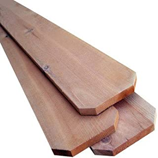 Alexandria Moulding Q1x6a-50072ce American Wood Dog Ear Board, 6' X 6