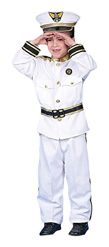 Dress Up America Costume de luxe Admiral Navy pour enfants
