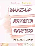 MakeUp Artista Grafico : Esculpe y da forma: Libro Face chart para completar, 92 páginas, tapa blanda