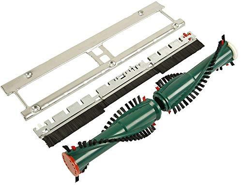 Set 3-teilig Bodenblech Frontbürste Bürsten geeignet für Vorwerk EB 350/351 Staubsauger Elektrobürste