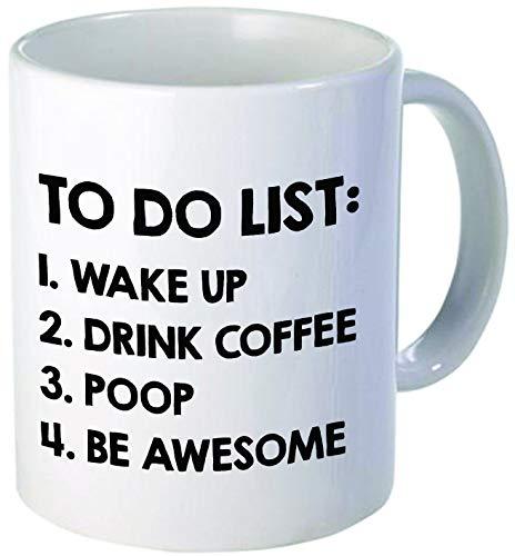 Taza de café, Lista de tareas Pendientes, 11 oz