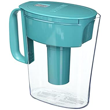 Brita Small 5 Cup Metro Water Pitcher with Filter - BPA Free - Turquoise