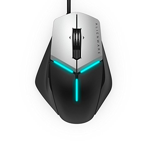 Alienware Blackhand AW958 RGB Elite Gaming Mouse 12,000 DPI Optical Sensor