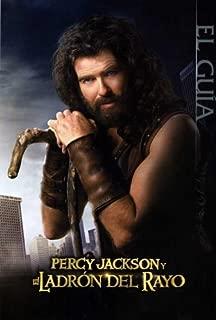 Percy Jackson & the Olympians: The Lightning Thief Movie Poster (27 x 40 Inches - 69cm x 102cm) (2010) Spanish Style D -(Logan Lerman)(Kevin McKidd)(Pierce Brosnan)(Uma Thurman)(Rosario Dawson)