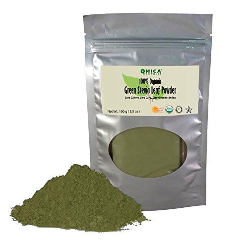 Green Leaf Stevia Powder (100 g / 3.5 oz)