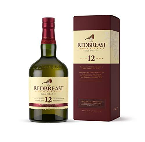 1. Whisky irlandés Redbreast 12 años Single Pot Still