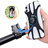 Spritech Detachable Bike Phone Mount, 360°Rotation Adjustable Phone Holder for Motorcycle/Bicycle Handlebars, Fit for iPhone 11 Pro Max/11 Pro/11/XS/XS Max/XR/8/7, Samsung S20/S10 Plus/S10/S10e/S9