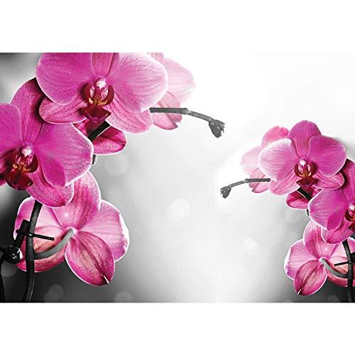 Vlies Fototapete PREMIUM PLUS Wand Foto Tapete Wand Bild Vliestapete - Orchideen Blumen Wellness - no. 1802, Größe:254x184cm Vlies